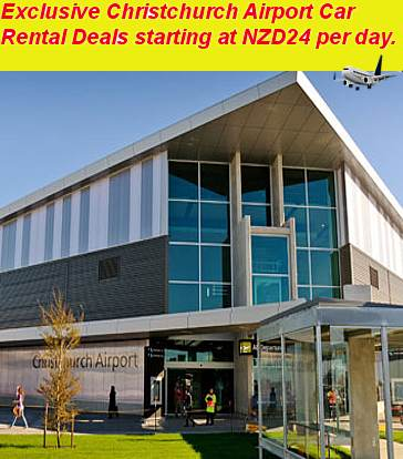 Exclusive Christchurch Airport Car Rental Deals